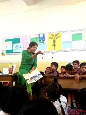 Richa Bisht, Story Teller | Teacher
