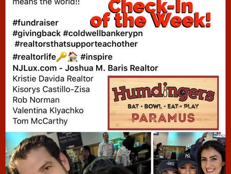 Humdingers Check-In of the Week!