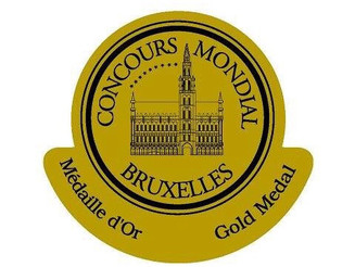Médaille d'or au Concours Mondial de Bruxelles pour notre Blanc 2016 !