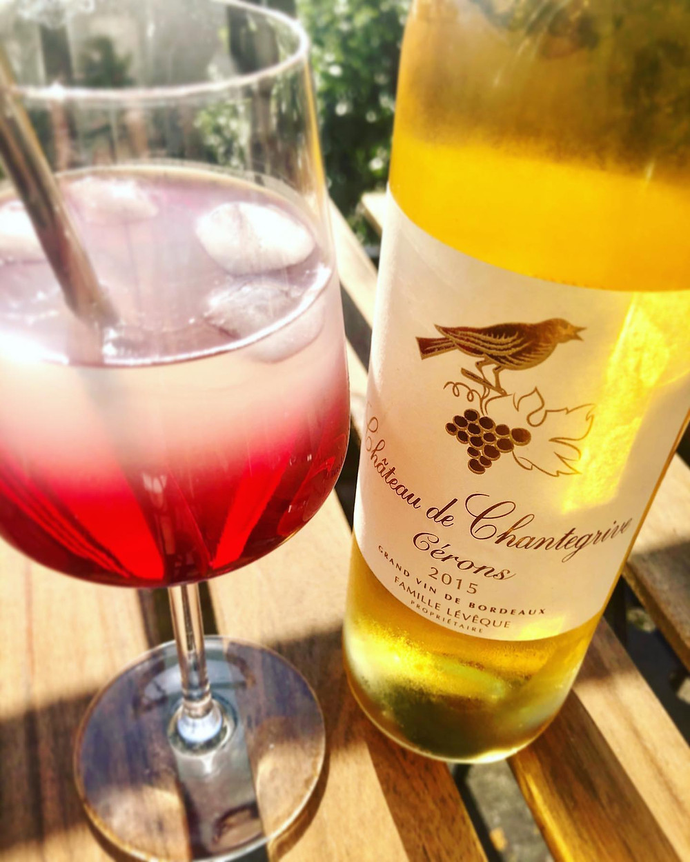 Cocktail Cérons by Château de Chantegrive 2015
