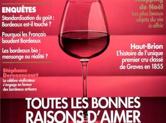 La revue des Vins de France note La Cuvée Caroline 2014