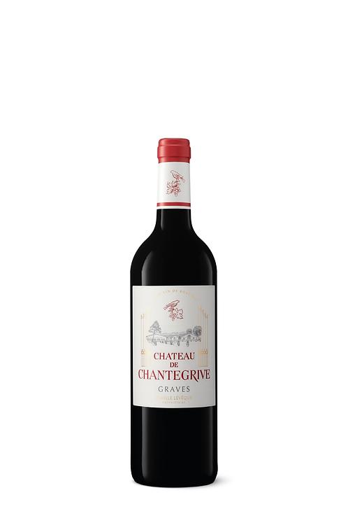 1/2 bouteille Château de Chantegrive Rouge - 2013