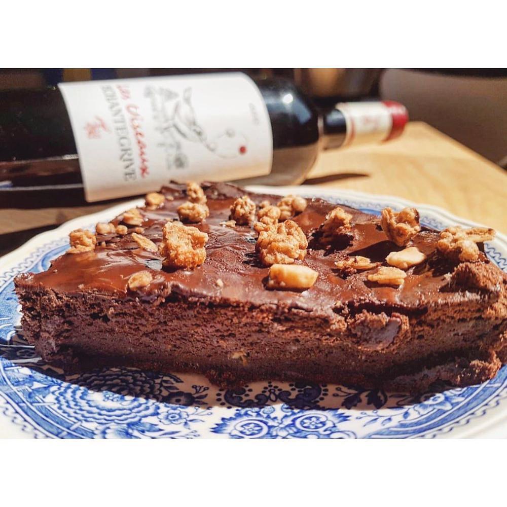 Gâteau au chocolat Château de Chanetgrive