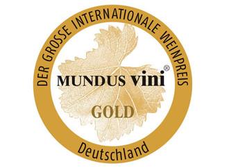 Médaille d'or au concours Mundus Vini pour notre rouge classique 2015 !