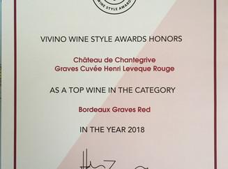 La Cuvée Henri Lévêque 2013 gagnante du Concours Vivino 2018 !