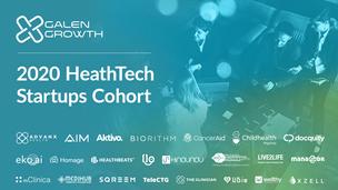 Galen Growth 2020 HealthTech Startups Cohort