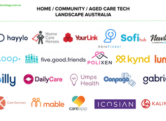 Landscape Snapshot: Aged / Home / Community Care Tech Australia