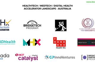 Landscape Snapshot: Healthtech Accelerators Australia