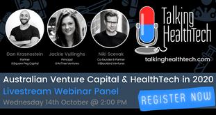 🦘Event: Australian Venture Capital and HealthTech in 2020 💸