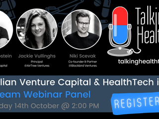 🦘Event: Australian Venture Capital and HealthTech in 2020 💸