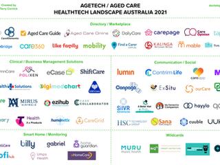 👵🏻 Agetech / Agedcare Landscape Australia 2021 💻