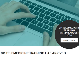 🏥 GP Telemedicine Training Course - 1+2 Aug 📱