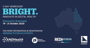 👨🏫 Event: BRIGHT - Innovate in Digital Health QLD 💡