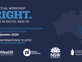 👨‍🏫 Event: BRIGHT - Innovate in Digital Health NSW 💡