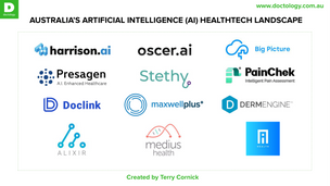 Landscape Snapshot: Artificial Intelligence (AI) Healthtech in Australia