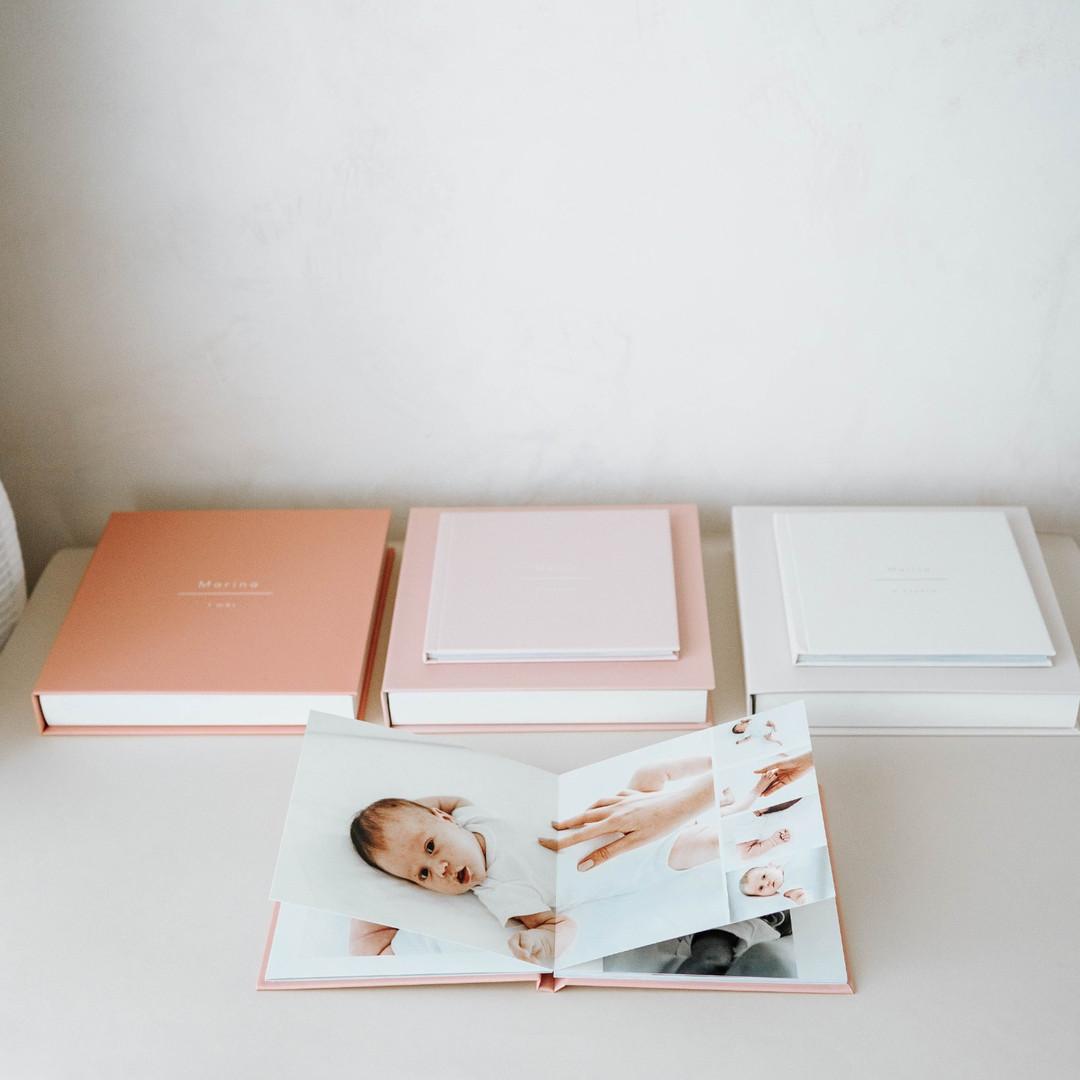 Coleção de 3 álbuns Basic 20x20cm