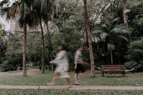 Ensaio gestante lifestyle feito em casa em São Paulo