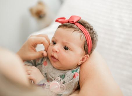 [Recém-nascido em casa] Beatriz 1 mês - Babuska Fotografia