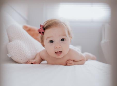 [Acompanhamento] Laura 6 meses - Babuska Fotografia