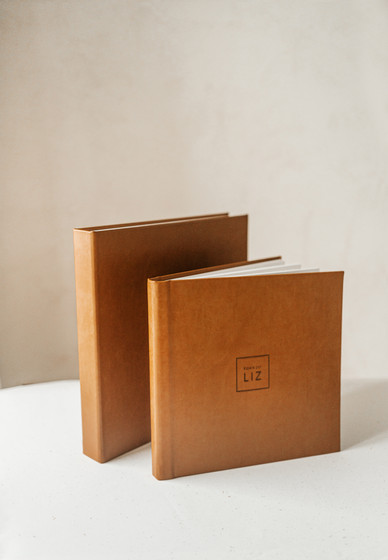 Album Fotografico de Couro Ecologico - A