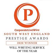 Will Writing Service Award