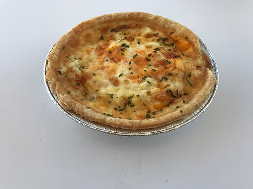Quiche - regular or vegetarian