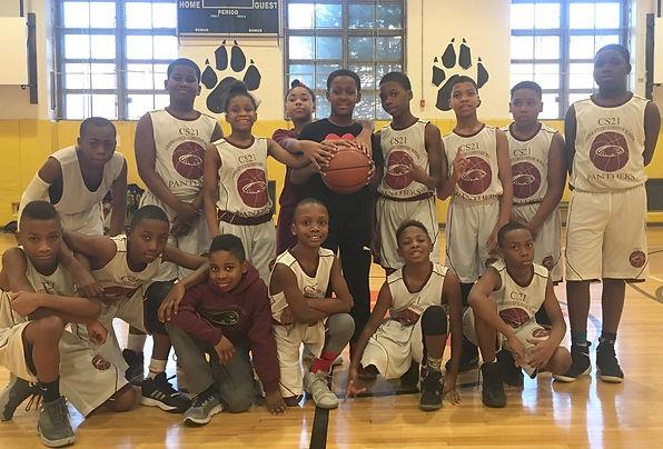 CS 21 Panthers Basketball Team