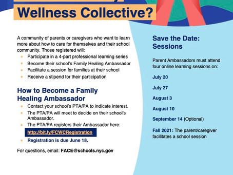 What is the Family and Community Wellness Collective?