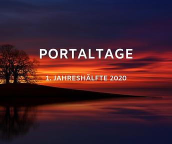 Portaltage 2020 1.Jahreshälfte