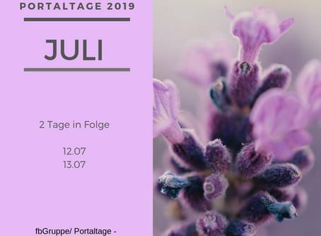 Portaltage Juli 2019