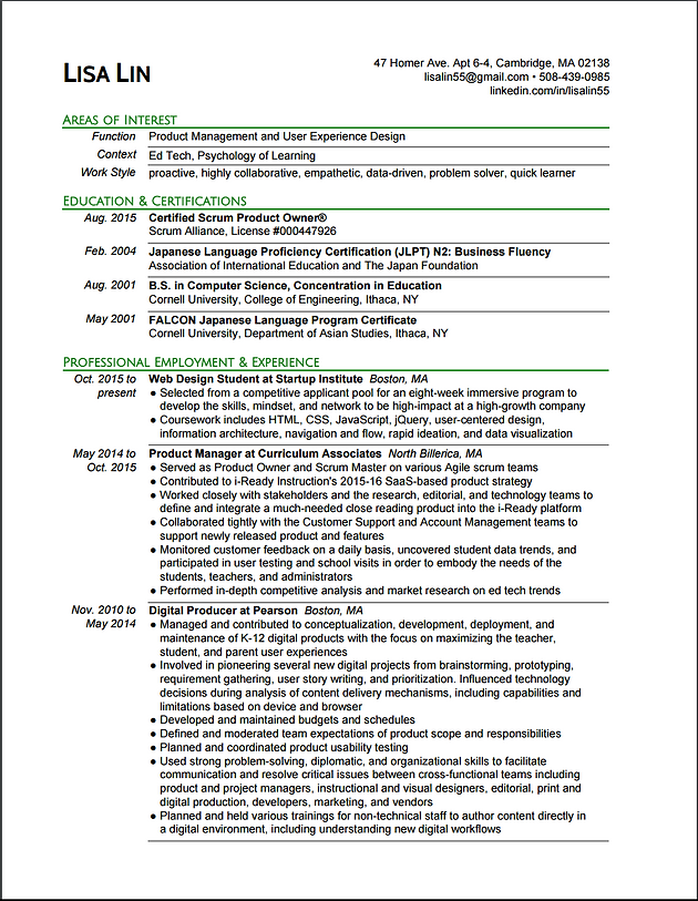 product owner resume objective agile sample pdf resumes small