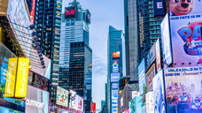 Times Square 6am, N.Y., N.Y.