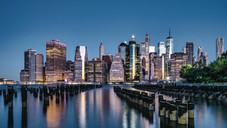 Manhattan Skyline Dawn 6am