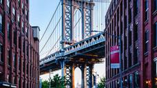 Manhattan Bridge from Brooklyn 6:15am
