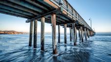 Cayucos Pier, Central California
