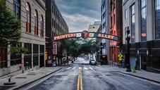 Printers Alley, Nashville, Tennessee