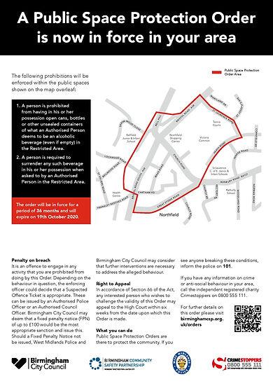 BCC1783 Northfield Victoria Common A3 Si