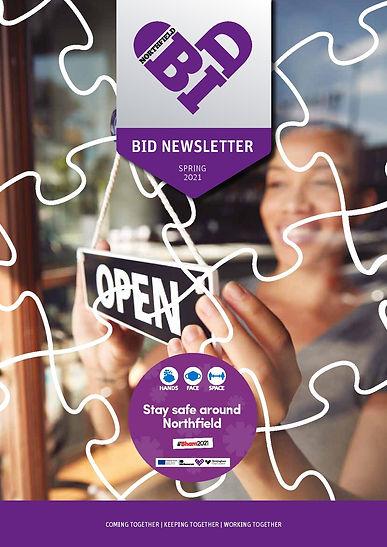 First page  BID Newsletter_Spring_2021_W
