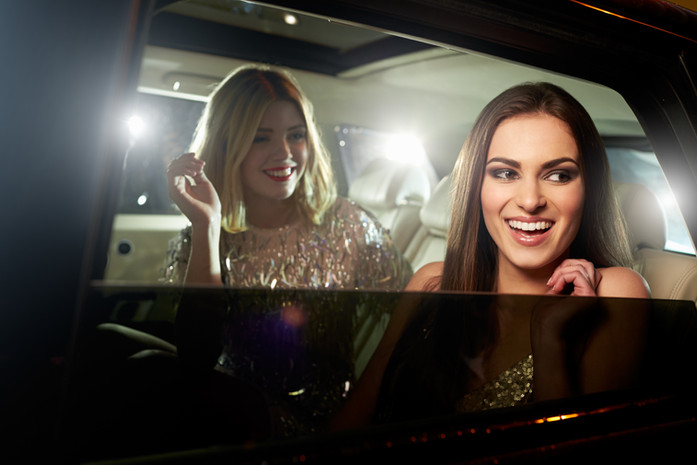 Girls in Limo