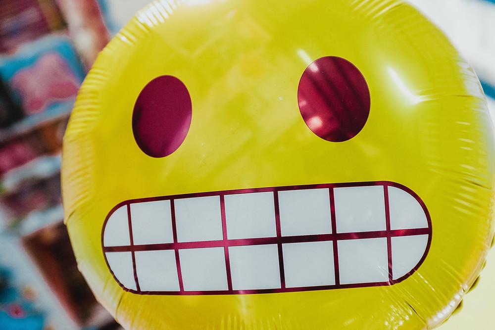 Anxious emoji