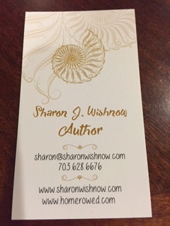Sharon Wishnow Author Card
