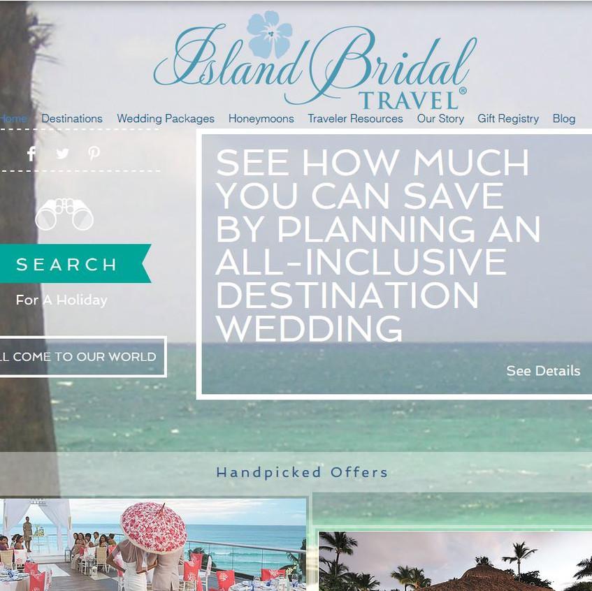 new island bridal site