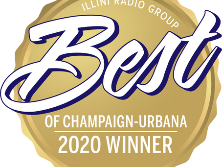 Thank you for Voting us BEST of the BEST Travel Agency in Champaign-Urbana!!