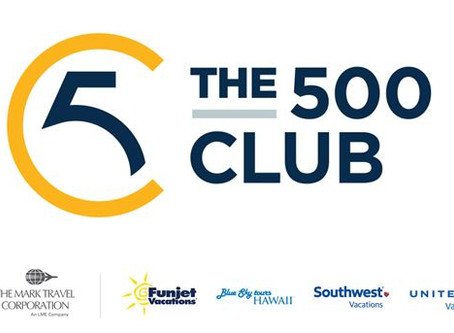 GUESS WHO MADE THE 500 CLUB!!! #ISLANDTRAVELGROUP