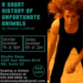 A SHORT HISTORY OF UNFORTUNATE ANIMALS-2