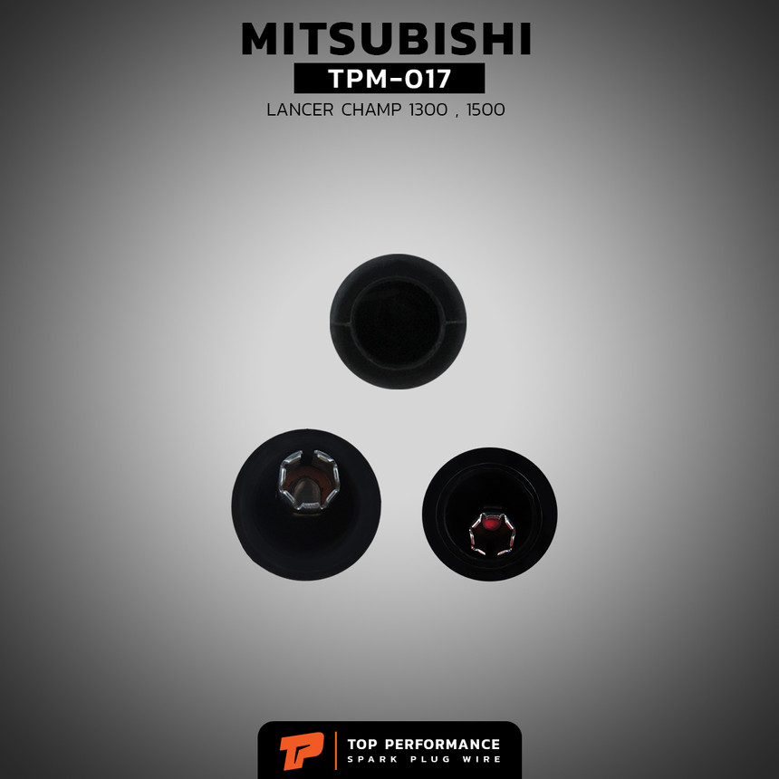 สายหัวเทียน TPM-017 - MITSUBISHI LANCER CHAMP 1-2 / 4G13 - TOP PERFORMANCE JAPAN - มิตซูบิชิ แลนเซอร์ แชมป์