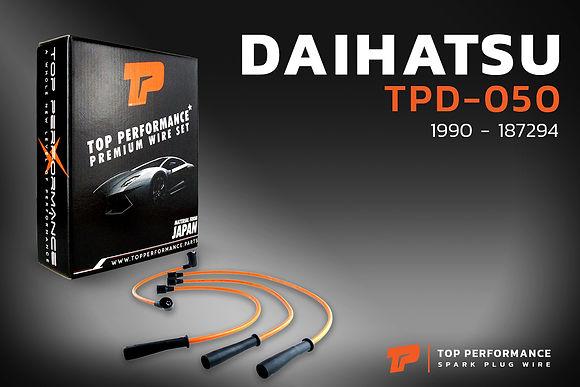 สายหัวเทียน TPD-050 - DAIHATSU MIRA L200V เครื่อง ED - TOP PERFORMANCE MADE IN JAPAN - ไดฮัทสุ มิร่า / 19901-87294