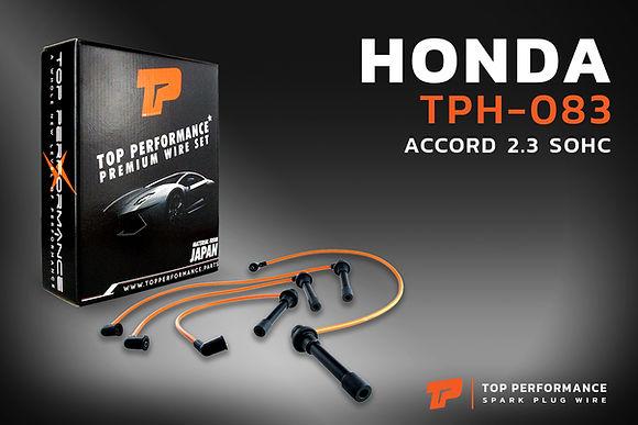 สายหัวเทียน TPH-083 - HONDA ACCORD SOHC H23A / F22B / F23A / F23B - TOP PERFORMANCE JAPAN - ฮอนด้า แอคคอร์ด