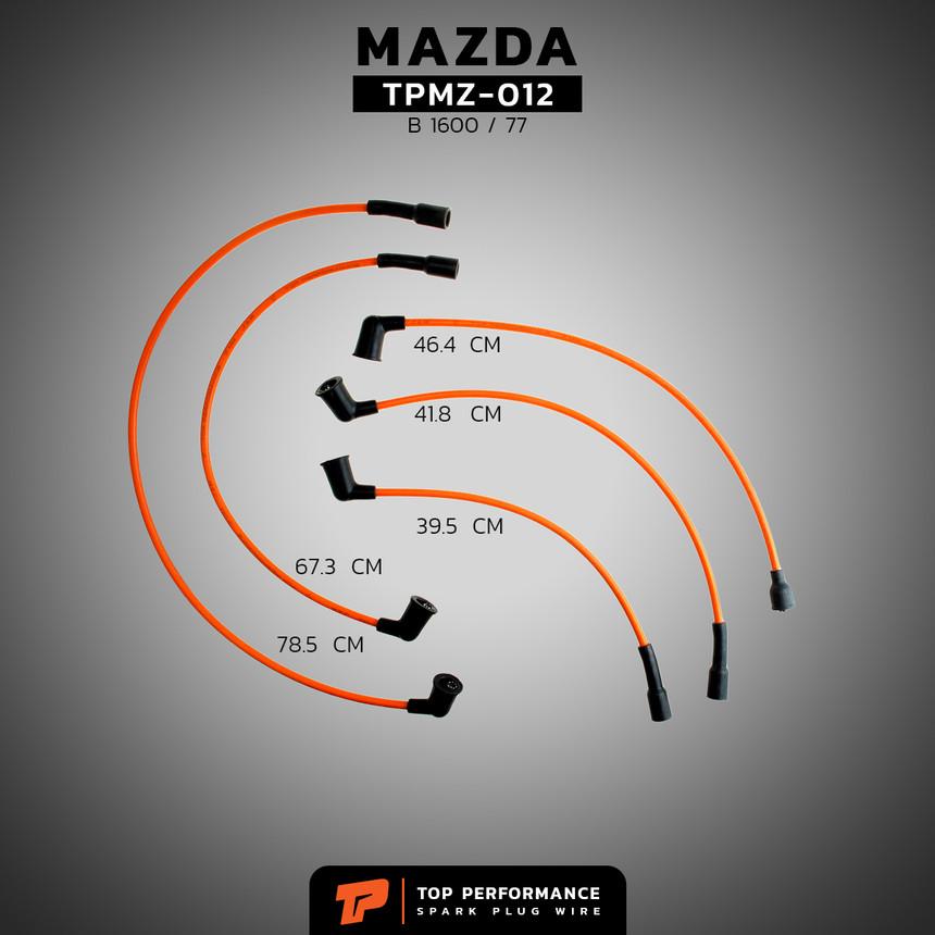 สายหัวเทียน TPMZ-012 - MAZDA FAMILIA M1600 / NA - TOP PERFORMANCE JAPAN - มาสด้า แฟมิเลีย