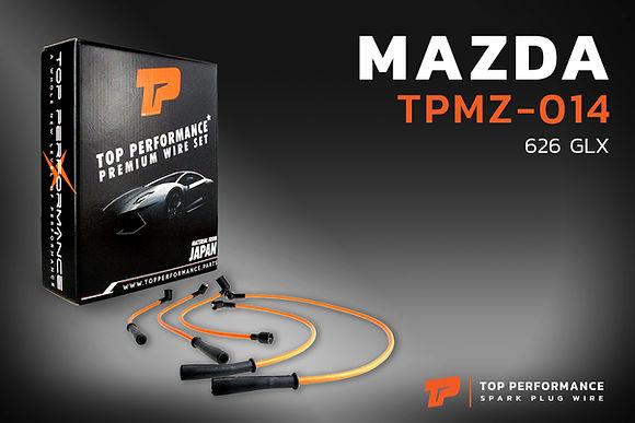 สายหัวเทียน TPMZ-014 - MAZDA 626 GLX 1.8 / F8 - TOP PERFORMANCE JAPAN - มาสด้า